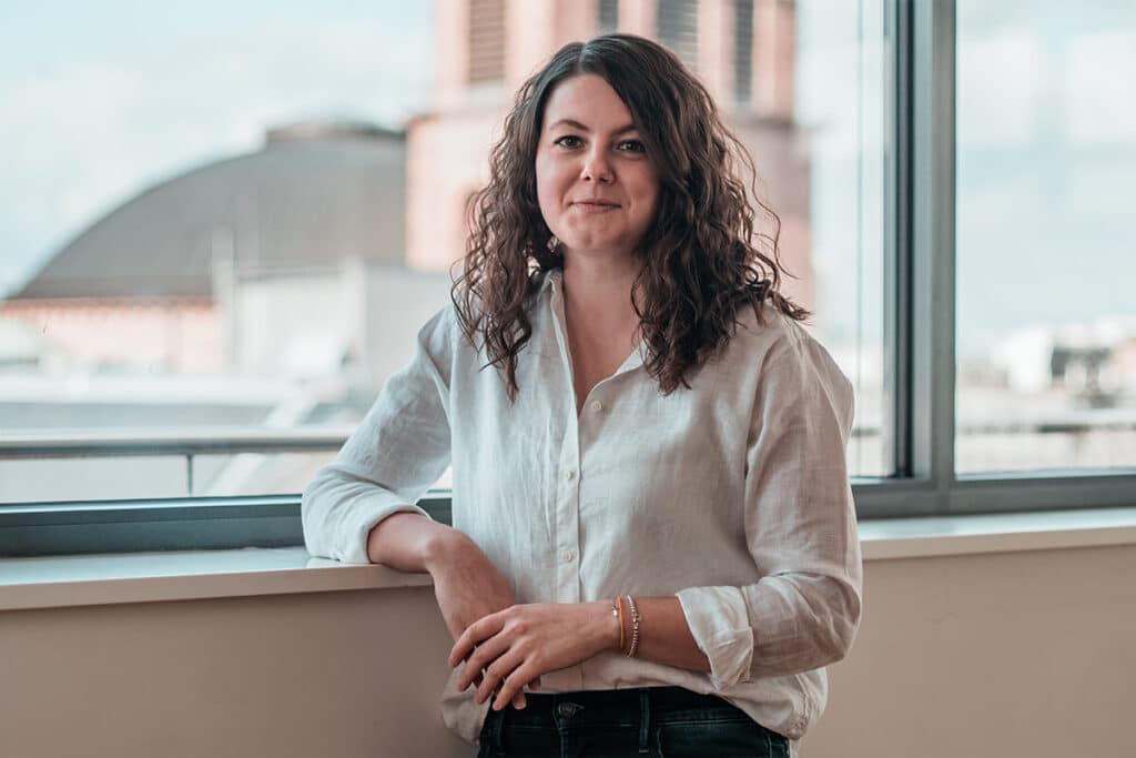 HR Managerin Lena Ziroli