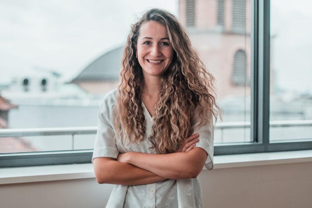 Marketing Manager Chiara Tyrtania
